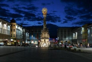Rynek Główny w Linz – plac tętniący życiem