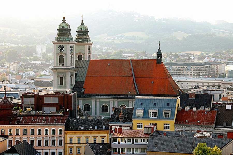 Stara Katedra wLinz
