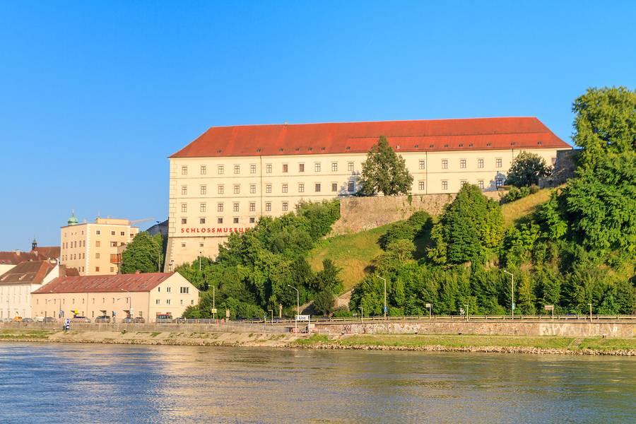 Linzer Schloss, czyli zamek wLinz