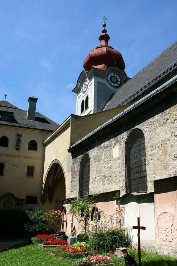 Klasztor Nonnberg wSalzburgu
