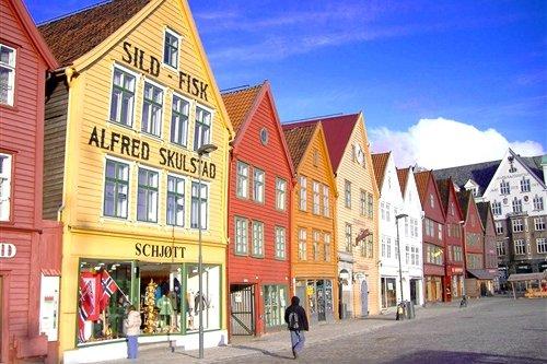 Bryggen, zabytkowa dzielnica Bergen