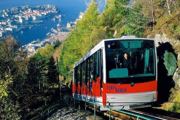 Kolejka w Bergen