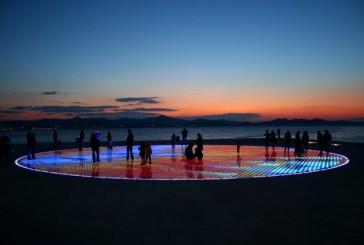 Zadarski bulwar Riwa – najpiękniejszy zachód słońca