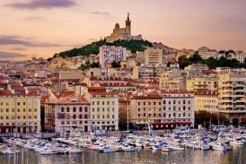 Port w Marsylii