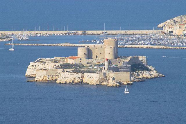 Zamek d'If wMarsylii