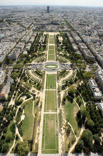 Pola Marsowe, Paryż