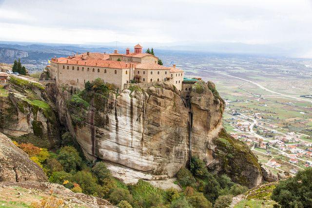 Klasztor św.Stefana, Meteory, Grecja