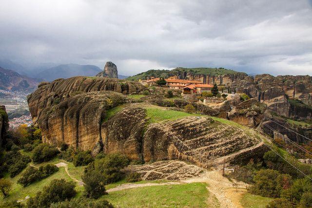 Klasztor Świętej Trójcy, Meteory, Grecja