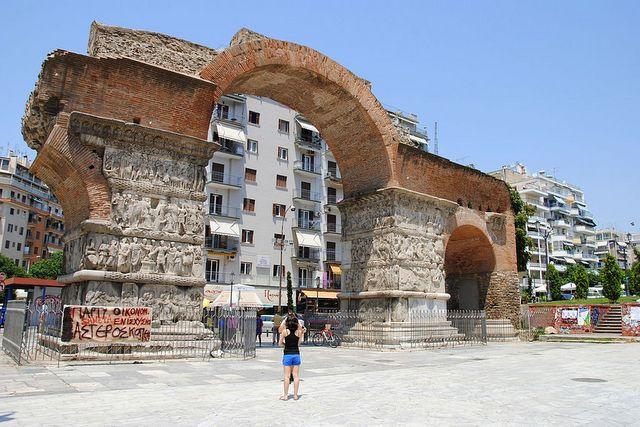 Łuk Galeriusza w Salonikach