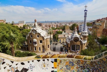 Park Guell – popis Gaudiego