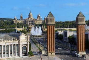 Pałac Narodowy, Magiczna Fontanna i Plac Hiszpański