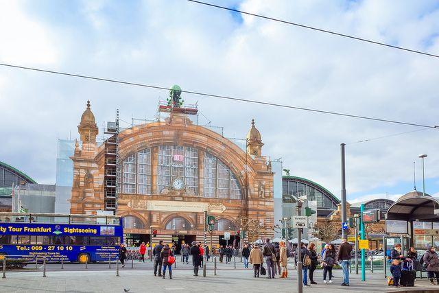 Głowny Dworzec Kolejowy, Frankfurt