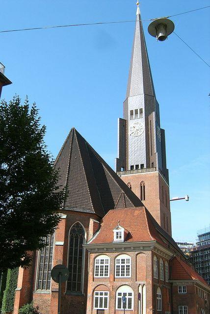 Kościół św Jakuba w Hamburgu