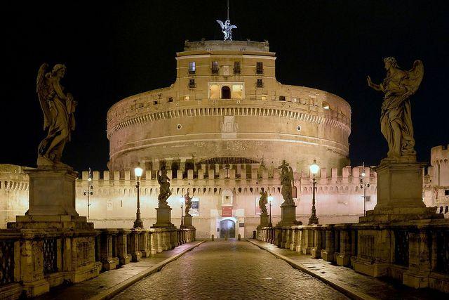 Zamek św.Anioła, Rzym